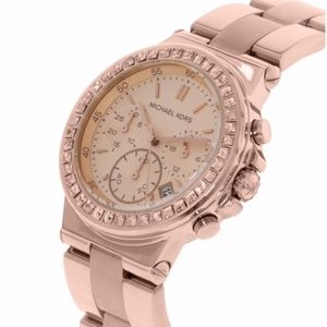 Michael Kors Women's MK5586 Rose Gold Stainless-St